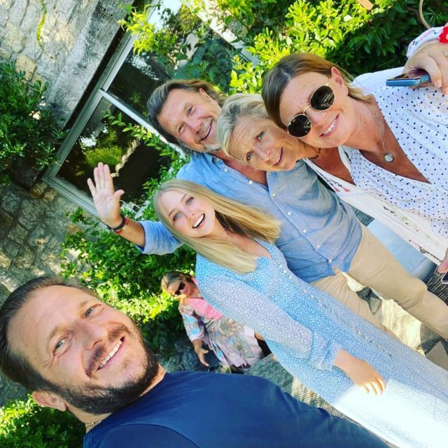Love the Swedes! #friends#fun#mougins#summer#party#provencefrance
